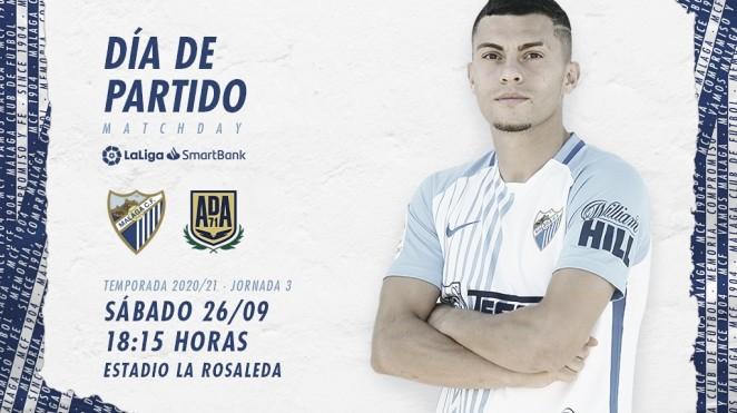 Previa Málaga CF - AD Alcorcón: optimismo en La Rosaleda