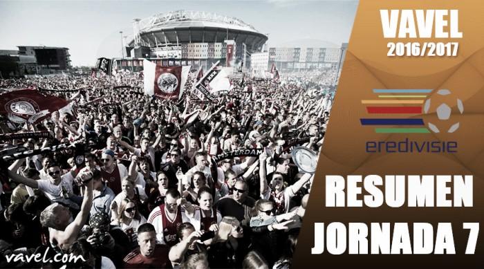 Resumen de la jornada 7 de la Eredivisie