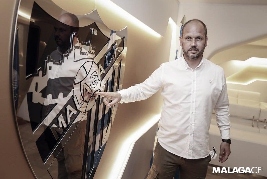 José Alberto, nuevo entrenador del Málaga CF