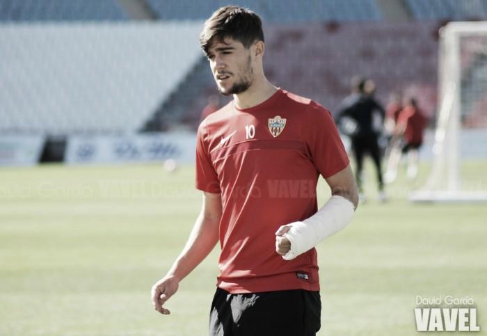 Diversas ausencias en el entrenamiento de este jueves en la UD Almería