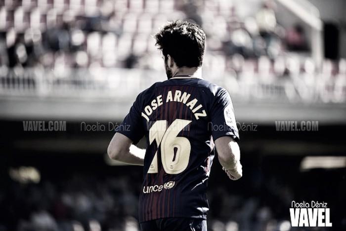"""Jose Arnaiz: """"Jugar con el primer equipo y marcar es lo mejor"""""""
