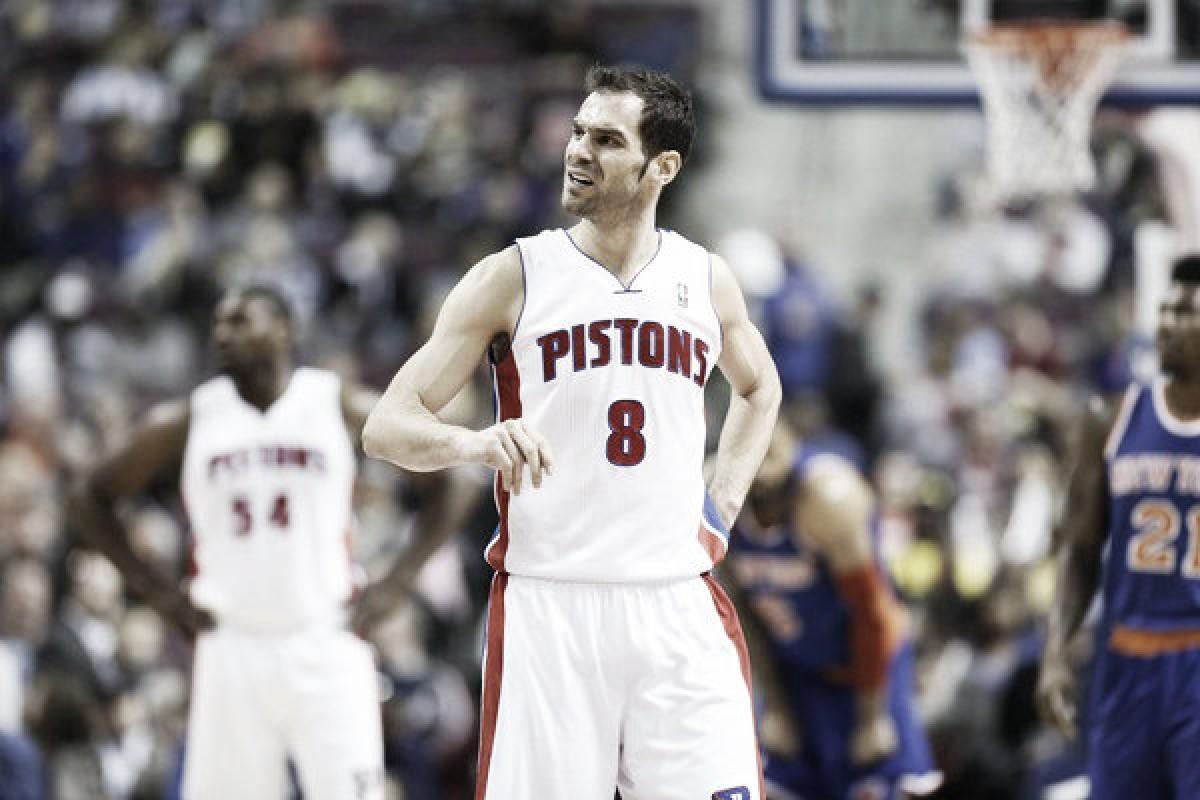 Calderón jugará en los Pistons