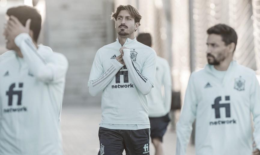 José Campaña con la Selección FOTO: @SeFutbol