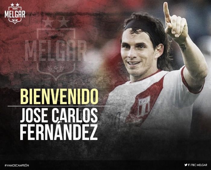 José Carlos Fernández es el nuevo fichaje de Melgar