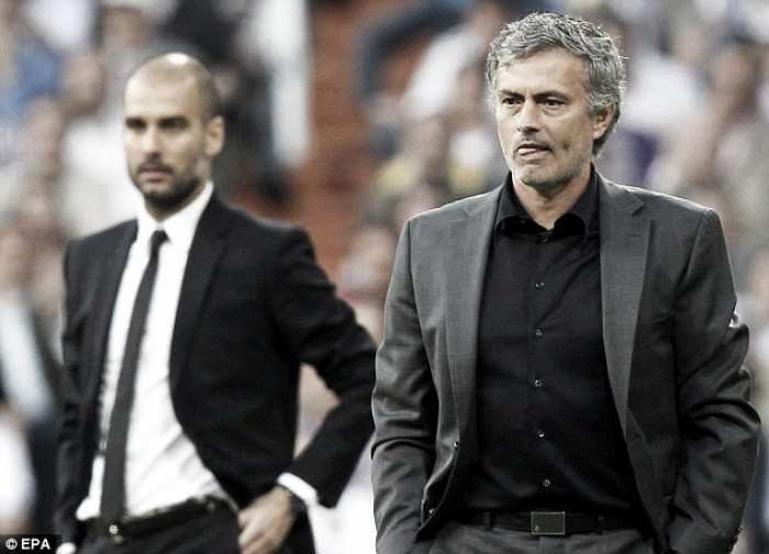 When Jose met Pep: A look back at Jose Mourinho and Pep Guardiola's first derby