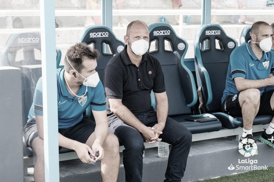 Declaraciones de Jose Alberto y Roberto tras el partido en Ibiza