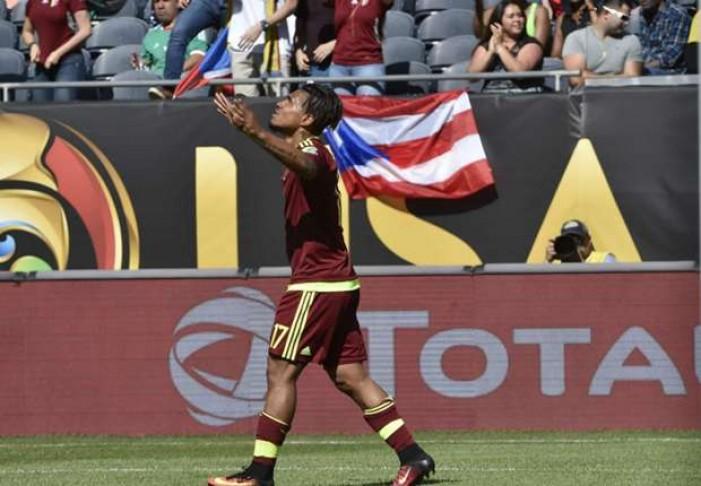 Copa Centenario, gruppo C: Josef Martinez regala tre punti fondamentali al Venezuela