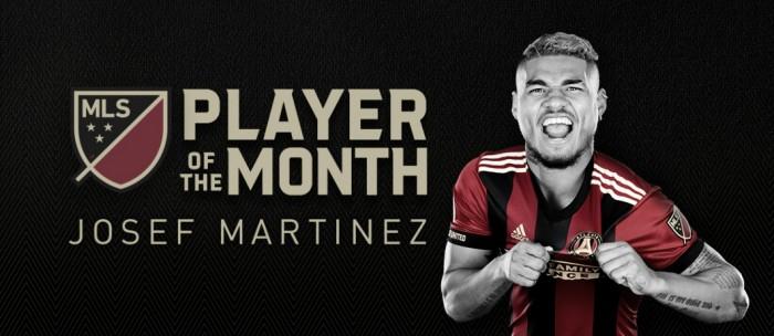 Josef Martinez elegido mejor jugador del mes de marzo en la MLS