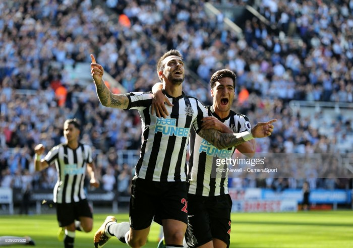 "Joselu compares Newcastle to Real Madrid after hailing his ""emotional"" debut"