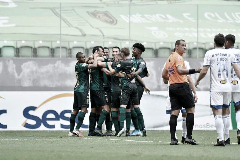 Joseph marca e garante vitória do América no clássico diante do Cruzeiro
