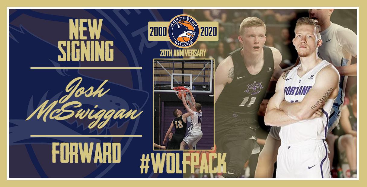 Worcester Wolves sign 6'7 Forward Josh McSwiggan