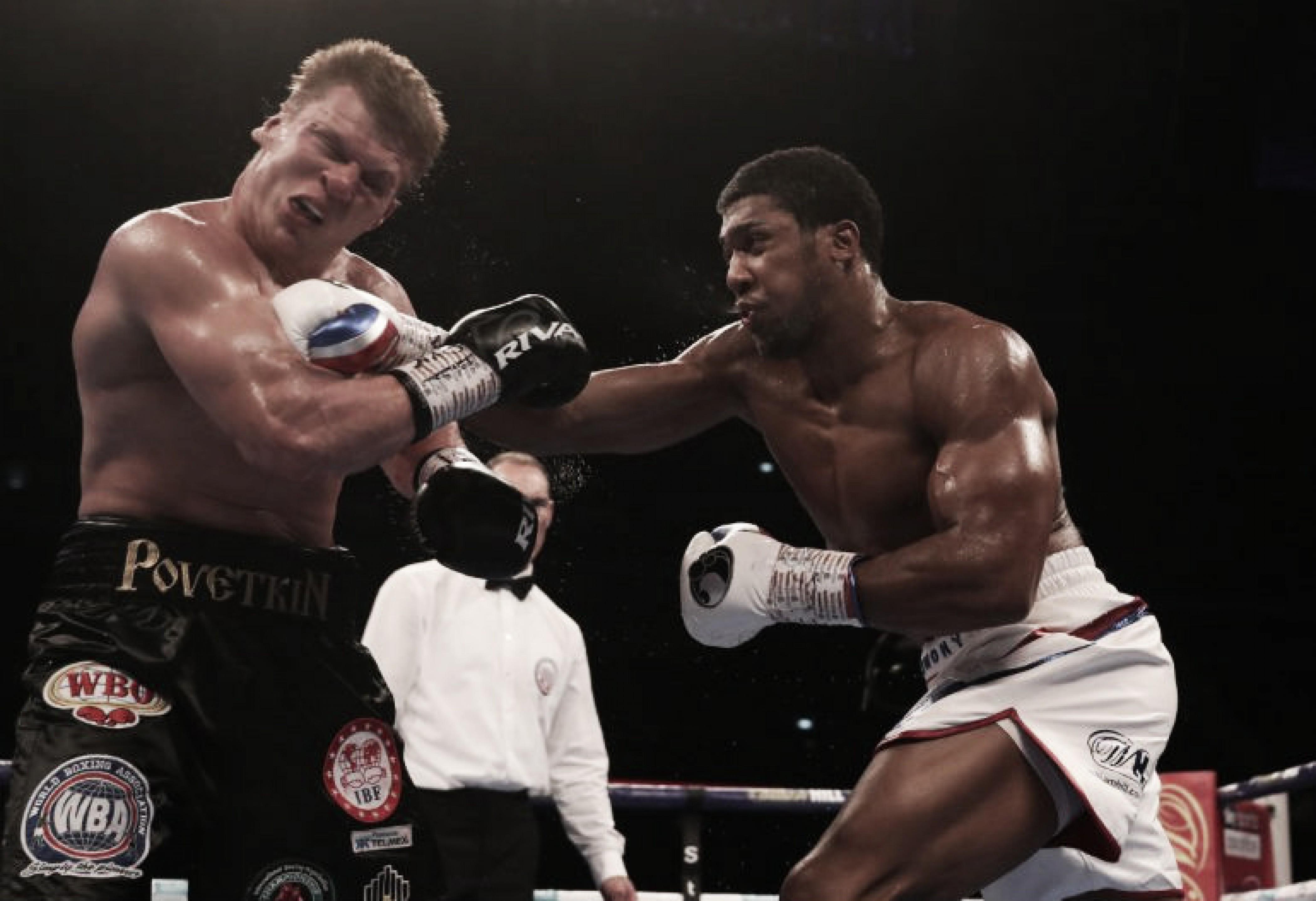 En una pelea muy difícil, Joshua hizo prevalecer su potencia