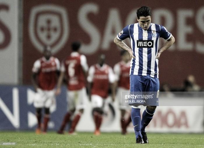 SC Braga: Josué de malas feitas para os arsenalistas