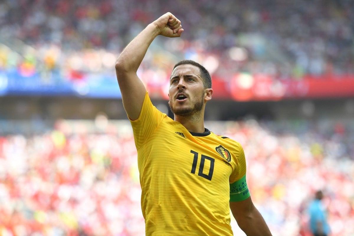 Eden Hazard élu homme du match. (Twitter: @brfootball)