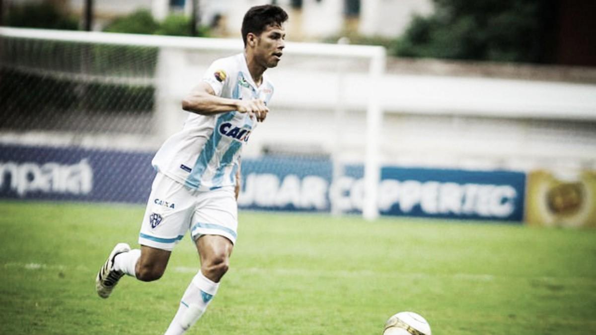 """Lateral Matheus Silva comemora chance como titular no Paysandu: """"Estou preparado para esse jogo"""""""