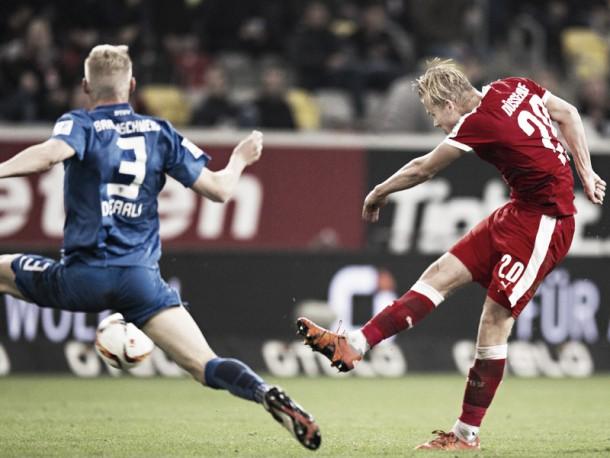 Fortuna Düsseldorf 1-0 Eintracht Braunschweig: Fortuna fire past poor Braunschweig