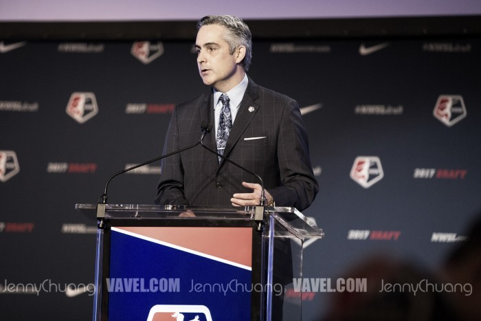 Jeff Plush steps down as NWSL Commissioner