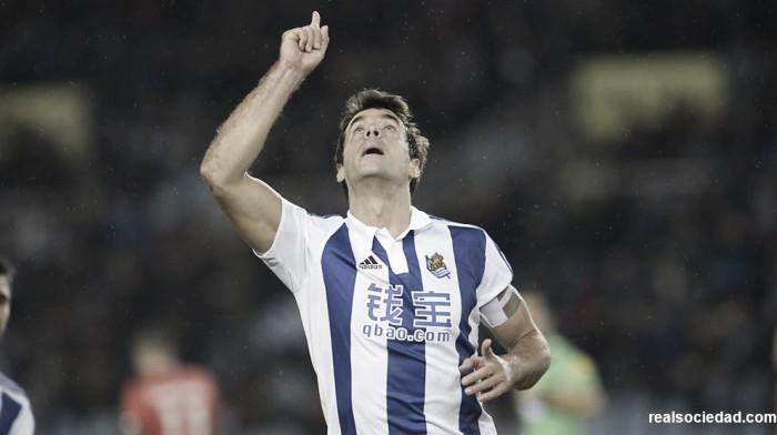 """Xabi Prieto: """"Queremos mejorar lo hecho en la primera vuelta"""""""