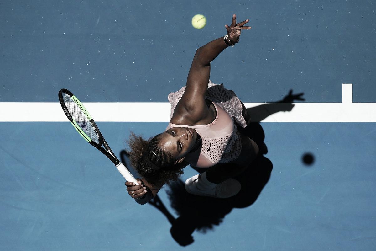 Serena sai atrás, mas vira para cima de Bencic pela Hopman Cup