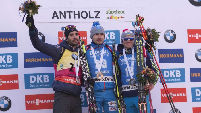 Biathlon, Anterselva - Individuale maschile: Shipulin batte Fourcade, azzurri nelle retrovie