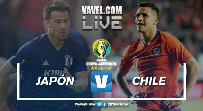 Japón vs Chile en vivo y en directo online por la Copa América 2019