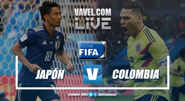 Resumen Japón 0-1 Colombia en partido amistoso 2019