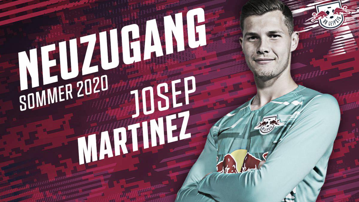 El RB Leipzig anuncia la llegada de Josep Martínez