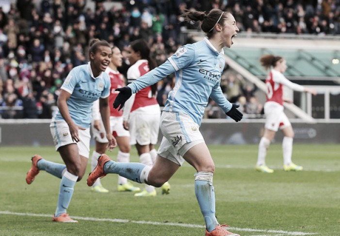 Manchester City Women 2-0 Arsenal Ladies: Ross and Duggan on scoresheet as Citizens prevail