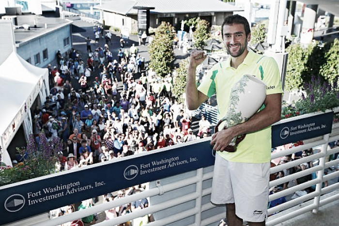 ATP Cincinnati: Defending champion Marin Cilic, 'Big Four' stars headline field