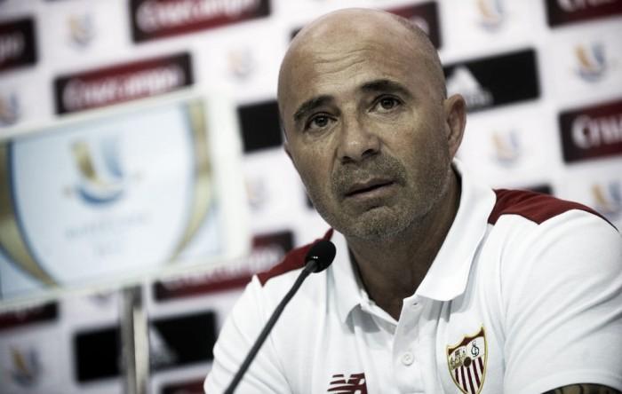 """Supercoppa spagnola, Sampaoli: """"Vogliamo essere padroni del gioco anche contro il Barça"""""""