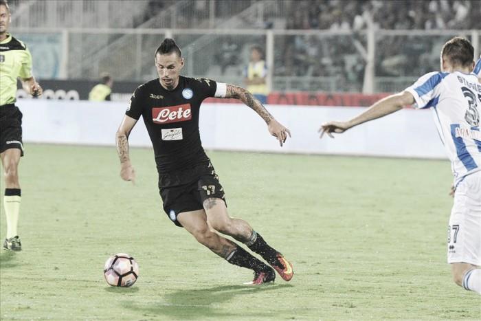 Hamsík valoriza empate contra Pescara na estreia da Serie A