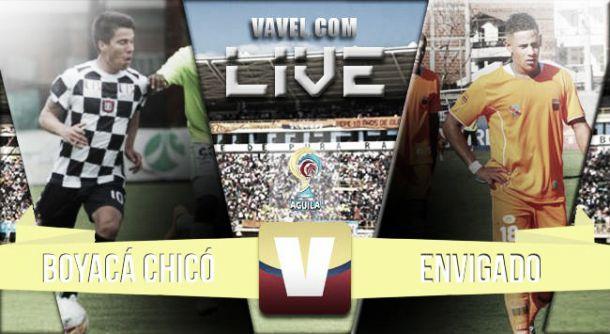 Resultado Chicó - Envigado (1-1)