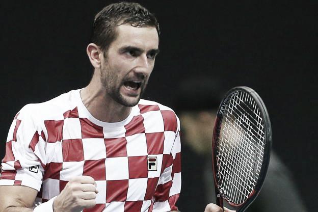 Final de Copa Davis: Croacia 2 -Francia 0