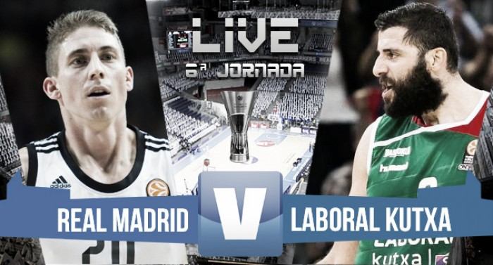 Resultado Real Madrid vs Laboral Kutxa en Euroliga 2016 (68-77)