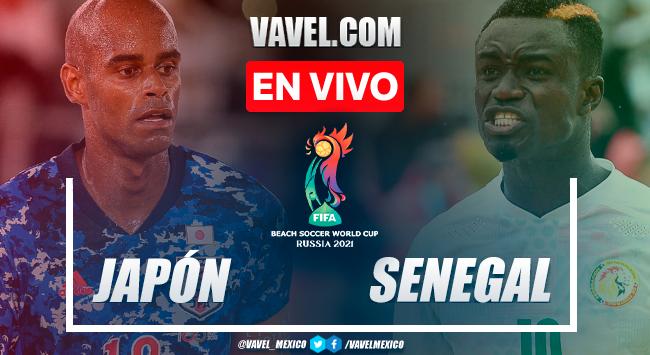 Resumen y goles: Japón 5-2 Senegal en Semifinal de Mundial de Playa 2021