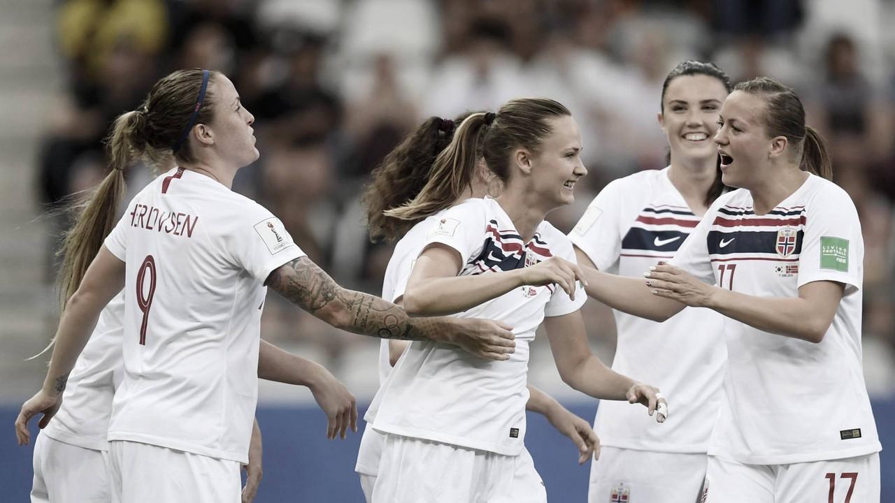 Gols e melhores momentos Noruega 4x1 Austrália pela Copa do Mundo Feminina 2019 (1-1)