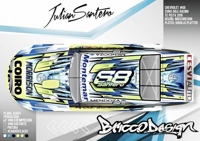 TC Pista: Santero se alista para su debut en la categoría