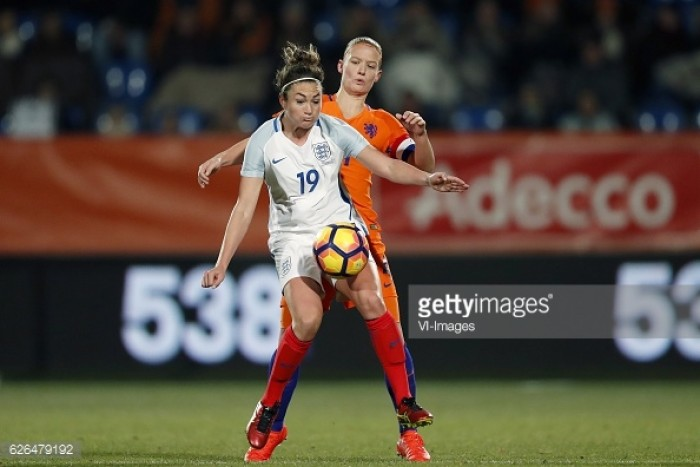 Netherlands 0-1 England: Lionesses finish year with a win