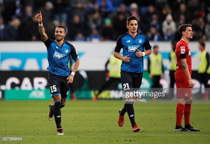 TSG 1899 Hoffenheim 4-0 1. FC Köln: Wagner brace helps Hoffenheim into third