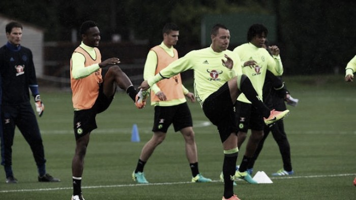 Chelsea begin training for the upcoming season