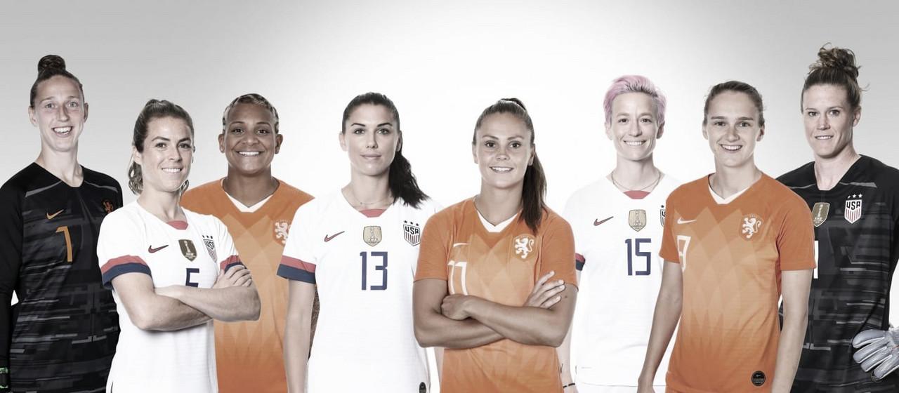 Gols e melhores momentos Estados Unidos 2x0 Holanda pela final da Copa do Mundo Feminina