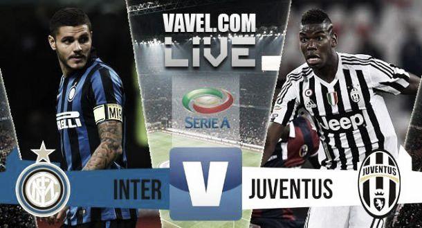 Inter - Juventus (0-0), risultato partita Serie A 2015/16