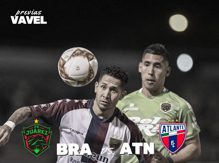Previa Juárez – Atlante: por los primeros puntos en la Copa MX
