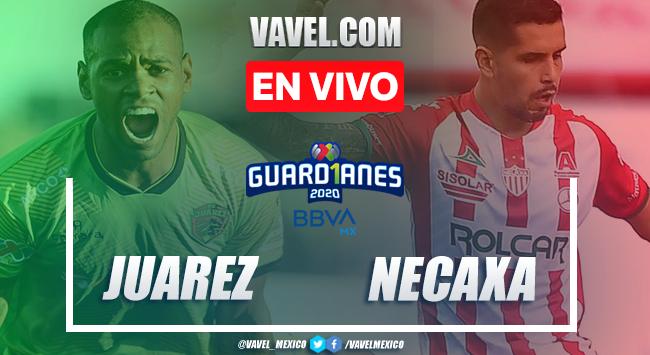 Goles y resumen del Juárez 1-0 Necaxa en Liga MX 2020