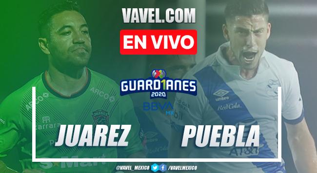 Resumen y gol del Juárez 1-0 Puebla en Liga MX 2020