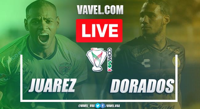 Goals and Highlights: FC Juárez 3-0 Dorados Sinaloa in Copa MX 2020