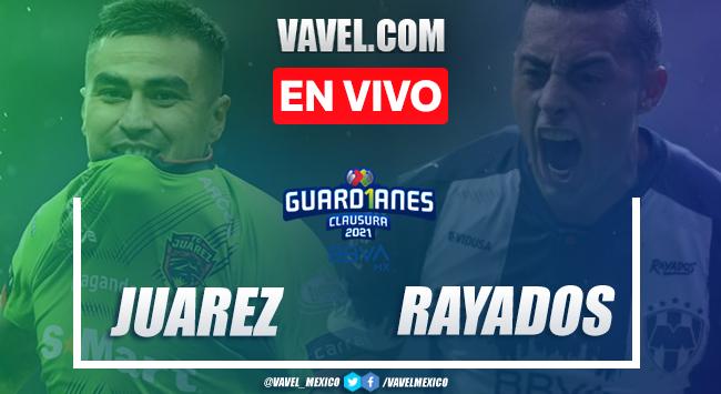 Goles y Resumen del FC Juárez 1-6 Monterrey en la Jornada 9 del Guard1anes 2021