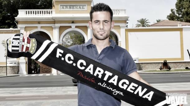 El FC Cartagena presenta a Juan Carlos Menudo