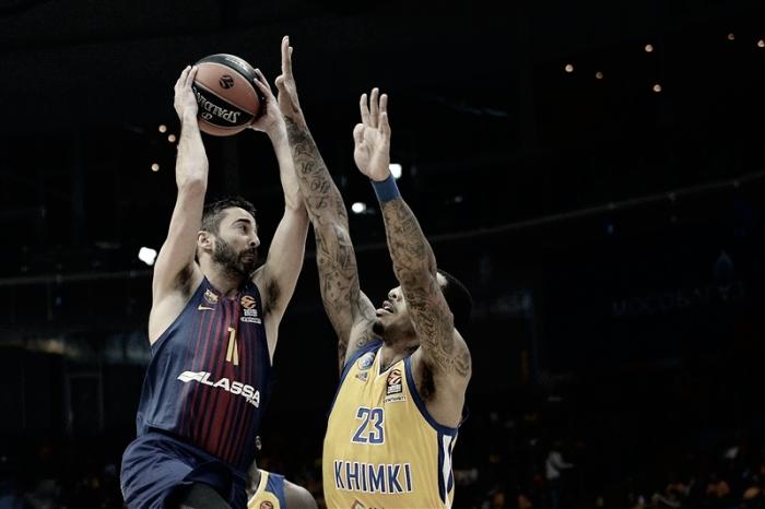 El Barça vuelve a sonreír y consigue la primera victoria fuera de casa en Euroliga