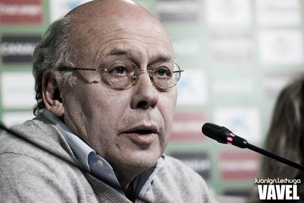 Juan Carlos Ollero: ''Todavía quedan 24 puntos''